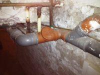 Tisztítópont szennyvíz vezetéken
