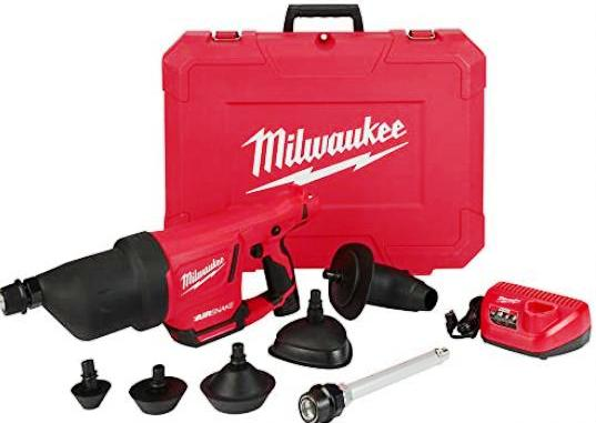 Milwaukee duguláselhárító gép