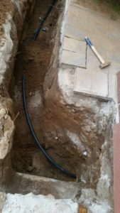 KPE vízvezeték cső
