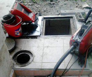 Csatorna kamera és duguláselhárító gép