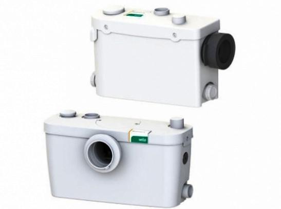Darálós WC. - falsík mögé épített és hagyományos