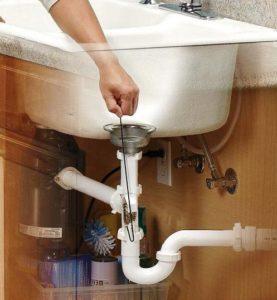 Lefolyótisztítás házilag - szifon tisztítás