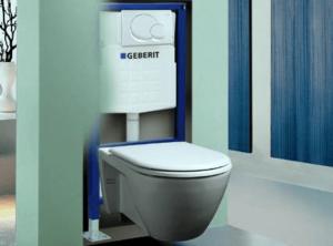 Beépített WC. tartály