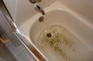 Fürdőkád dugulás