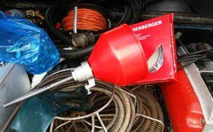 Duguláselhárító gép adapter - Rothenberger
