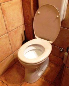 Dugulás a WC. csészében
