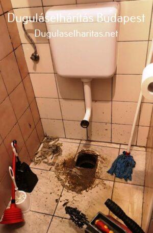 WC. duguláselhárítás